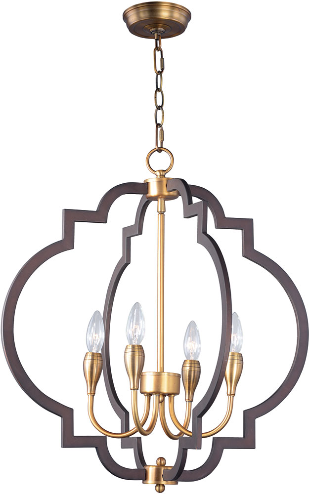 Maxim 20293oiab Crest Oil Rubbed Bronze And Antique Brass