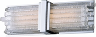 Maxim 20832CLPN Unity Modern Polished Nickel LED 15  Bathroom Sconce