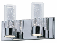 Maxim 20902CLPC Sync Modern Polished Chrome Finish 7.25  Tall LED 4 Light Bathroom Lighting