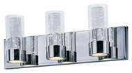 Maxim 20903CLPC Sync Contemporary Polished Chrome Finish 21  Wide LED 6 Light Lighting For Bathroom