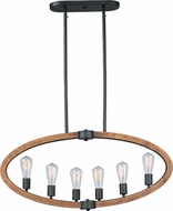 Maxim 20913APAR Bodega Bay Anthracite Island Lighting