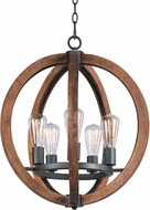 Maxim 20917APAR-BUI Bodega Bay Anthracite 18  Drop Lighting Fixture