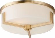 Maxim 21280SWSBR Dart Modern Satin Brass Ceiling Light