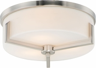Maxim 21280SWSN Dart Contemporary Satin Nickel Ceiling Light Fixture