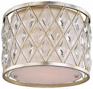 Maxim 21451OFGS Diamond Small 1-light Crystal Ceiling Flush Lighting
