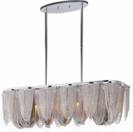 Maxim 21463NKPN Chantilly Contemporary Polished Nickel Kitchen Island Light