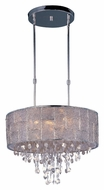Maxim 21565TWPN Allure Large Modern Polished Nickel Hanging Light - 22 Inch Diameter