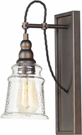 Maxim 21572HMOI Revival Modern Oil Rubbed Bronze Wall Sconce Lighting