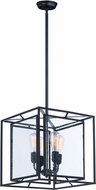 Maxim 21675CDBK Era Modern Black Foyer Light Fixture