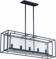 Maxim 21677CDBK Era Contemporary Black Kitchen Island Light Fixture
