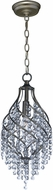 Maxim 22003BCGS Twirl Golden Silver Mini Hanging Pendant Light