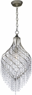 Maxim 22005BCGS Twirl Golden Silver Mini Hanging Light Fixture