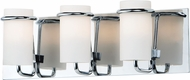 Maxim 22023SWPC Avant Modern Polished Chrome Xenon 3-Light Bath Wall Sconce