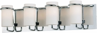 Maxim 22024SWPC Avant Contemporary Polished Chrome Xenon 4-Light Bathroom Light Sconce