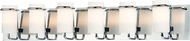Maxim 22026SWPC Avant Modern Polished Chrome Xenon 6-Light Bathroom Lighting Sconce