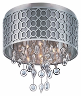 Maxim 22380STPN Symmetry Contemporary Polished Nickel 5 Lamp Ceiling Light Fixture