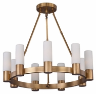 Maxim 22418SWNAB Contessa 27  Wide Chandelier Light