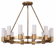 Maxim 22419SWNAB Contessa Natural Aged Brass 28  Tall Ceiling Chandelier