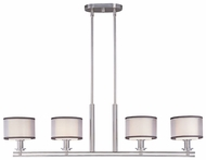 Maxim 23039SWSN Orion 4-light Contemporary Kitchen Island Lighting