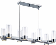 Maxim 23079CLFTPC Silo Modern Polished Chrome Island Light Fixture
