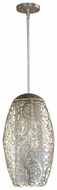 Maxim 24151BCGS Arabesque Tall 6-light Crystal Pendant Lamp