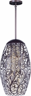 Maxim 24151CGOI Arabesque Oil Rubbed Bronze Xenon Ceiling Pendant Light