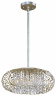Maxim 24154BCGS Arabesque Medium 7-light Crystal Ceiling Light Pendant