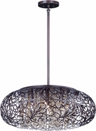Maxim 24154CGOI Arabesque Oil Rubbed Bronze Xenon Drop Lighting Fixture
