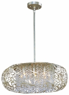 Maxim 24155BCGS Arabesque 9-lamp Large Hanging Pendant Lighting