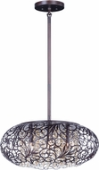 Maxim 24155CGOI Arabesque Oil Rubbed Bronze Xenon Pendant Lighting