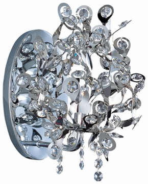 Maxim 24202BCPC Comet Chrome Crystal Contemporary Sconce
