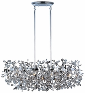 Maxim 24206BCPC Comet 7-light Contemporary Crystal Kitchen Island Lighting