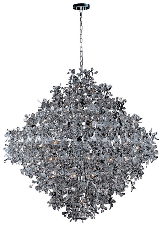 Contemporary crystal pendant lighting Indoor Maxim 24209bcpc Comet Large 21light Polished Chrome Contemporary Crystal Pendant Lighting Loading Zoom Affordable Lamps Maxim 24209bcpc Comet Large 21light Polished Chrome Contemporary