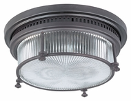 Maxim 25000CLBZ Hi-Bay Vintage 13 Inch Tall Bronze Flush Mount Lighting