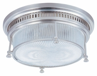 Maxim 25000CLSN Hi-Bay Flush Mount Satin Nickel 13 Inch Diameter Ceiling Light