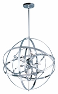 Maxim 25133PC Sputnik Large Contemporary 25 Inch Diameter Polished Chrome Pendant Light
