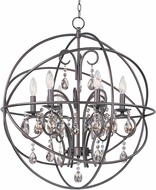 Maxim 25144OI Orbit Oil Rubbed Bronze 25  Lighting Chandelier