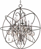Maxim 25145OI Orbit Oil Rubbed Bronze 30  Chandelier Lighting