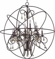 Maxim 25147OI Orbit Oil Rubbed Bronze 40  Ceiling Chandelier
