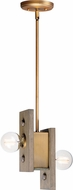 Maxim 25249WWDAB Plank Country Weathered Wood / Antique Brass Multi Hanging Light