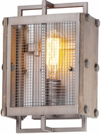 Maxim 25269BWWZ Outland Country Barn Wood / Weathered Zinc Lighting Wall Sconce