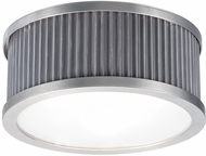 Maxim 26021WZSN Ruffle Weathered Zinc and Satin Nickel Ceiling Lighting Fixture
