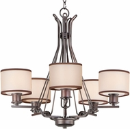 Maxim 26045SWCOOI Bon Ton Oil Rubbed Bronze Chandelier Lamp