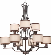 Maxim 26048SWCOOI Bon Ton Oil Rubbed Bronze Chandelier Light