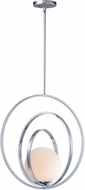 Maxim 26054SWPC Coronet Contemporary Polished Chrome 17.5  Pendant Lamp