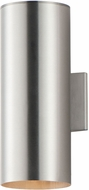 Maxim 26103AL Outpost Modern Brushed Aluminum Outdoor 15 Wall Lighting Sconce