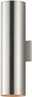 Maxim 26105AL Outpost Modern Brushed Aluminum Exterior 22 Wall Sconce Lighting