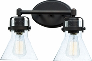 Maxim 26112CDOI-BUI Seafarer Contemporary Oil Rubbed Bronze 2-Light Bath Lighting Sconce