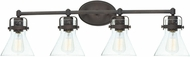 Maxim 26114CDOI Seafarer Modern Oil Rubbed Bronze 4-Light Lighting For Bathroom