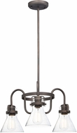 Maxim 26116CDOI-BUI Seafarer Contemporary Oil Rubbed Bronze Mini Hanging Chandelier